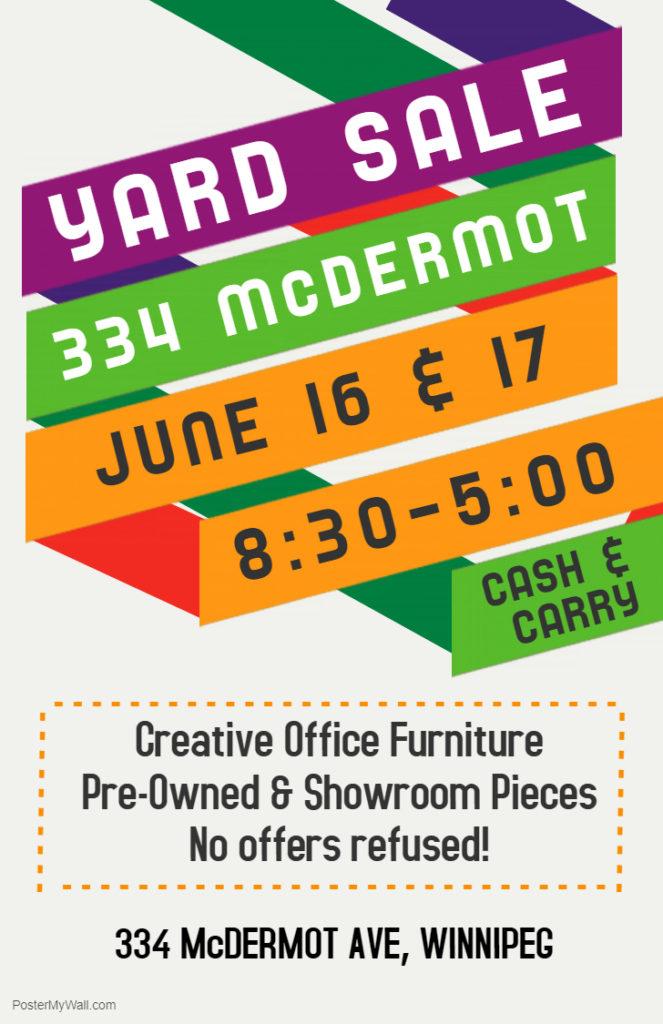 Yard Sale Flyer 16/17-6-18